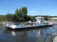 The new Oka - Hudson ferry..