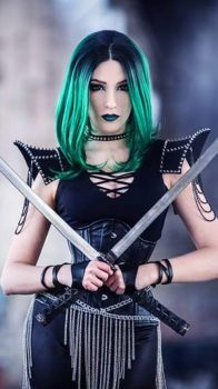 Green sword