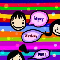 Happy Birthday dear Pru/Zwan !!! ♥♥♥