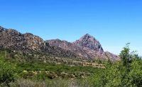 Santa Rita Mountains with Elephant Head peak