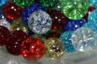 Shattered Glass Marbles