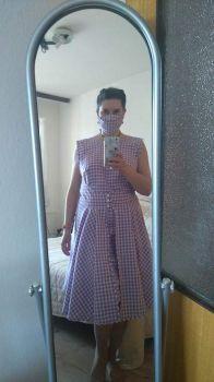 šaty k roušce