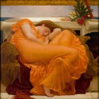 Frederic Leighton - Flaming June (1895)