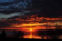 Lac du Bonnet sunrise