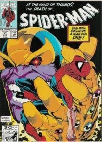 Theme #3: Comic Book Covers: Spider-Man #17 (December, 1991)