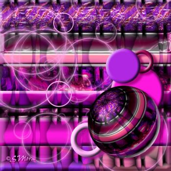 Magenta Bars with Orbs ...