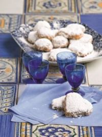 Island of Kythera, Greece - local cookies