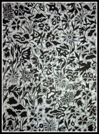 Art - Colouring - Liberty Colouring Book - Poppy and Daisy - Black & White (Medium)