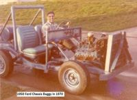 1950 Ford Chassis Buggy 1970