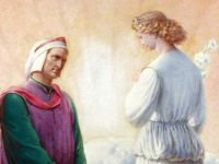 Dante's journey and the meeting with Beatrice