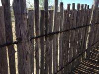 A western fence