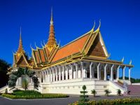 Royal palace, Phnom Penh (Cambodia)