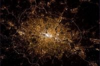 London from the Internation Space Station by Col. Chris Hadfield