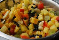 fruit salad with pineapple / ovocný salát s ananasem