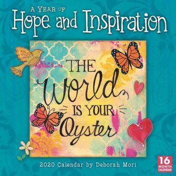 2020 Wall Calendar Hope and Inspiration