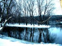 Fox River in winter
