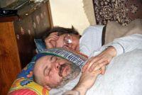 Dědeček s babičkou usnuli