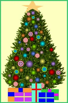 Orb Christmas tree - larger