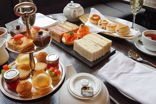 Afternoon Tea includes Champagne ~