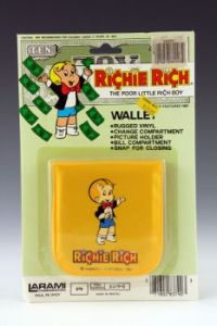Richie Rich Wallet, yellow variant