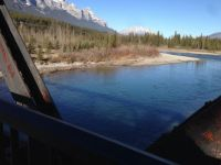 Bow River. Canmore.