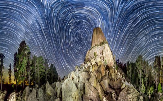 Devils Tower Wyoming. USA