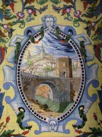 Toledo, Spain Tile