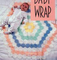 Pretty Baby Honeycomb Crocheted Blanket