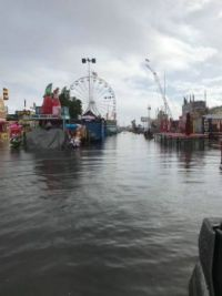 Arizona State Fair Flooded Out