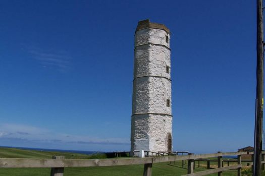 The Original Lighthouse at Flamborough built 1669