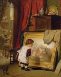 The little art connoisseur