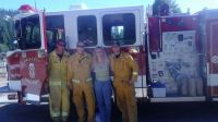 RIM FIRE FIRE FIGHTERS IN TWAIN HARTE FROM DAILY CITY