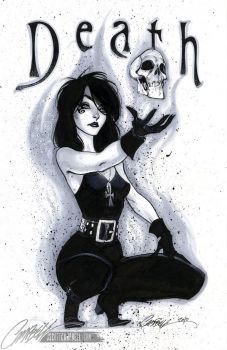 Neil Gaiman's Death by J. Scott Campbell