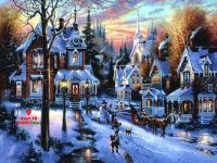 White Christmas ... victorian style.