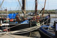 Thames Barges at Maldon