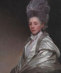 Romney George - Portrait of Jane Dawkes Robinson