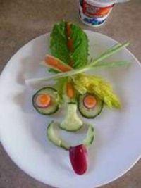 Edible Green Face