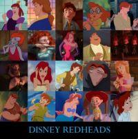 Disney Red Heads