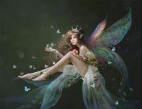 Fairy with crown