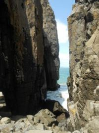Whaleback kloof Hole-in-the-wall