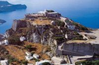 Island of Kythera,  Greece - The castle