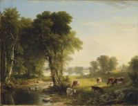 """Asher Brown Durand, """"The Babbling Brook"""""""