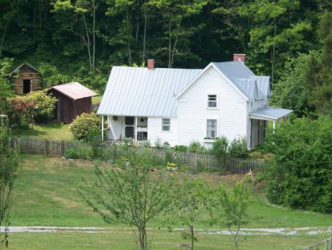 Farmstead in Roan Mtn State Park, TN