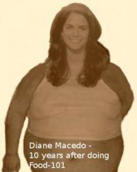 "Diane Macedo 10 years after doing, ""Food-101"""