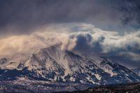 Storm Clouds over Mount Sopris, Colorado