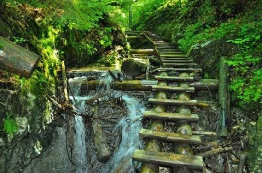 stairs Slovak Paradise national park