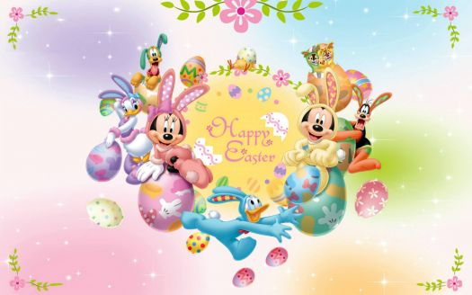 mickey and friends easter