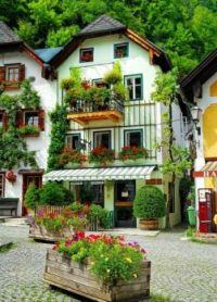 Buildings, Hallstatt
