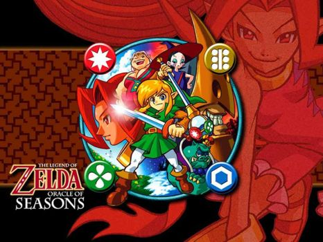 Theme #1: Legend Of Zelda Series Part 7: The Legend Of Zelda: Oracle of Seasons (Gameboy Color, 2001)