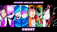 Mystery Skulls Animated Ghost